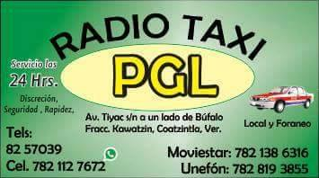 Radio Taxis P.G.L.