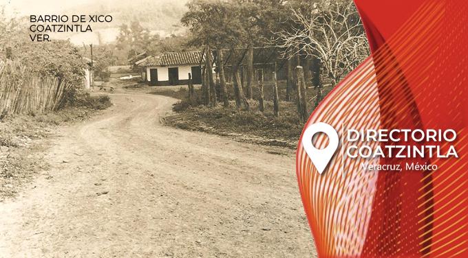 Barrio de Xico historia Coatzintla