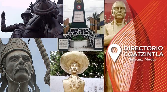 monumentos esculturas coatzintla
