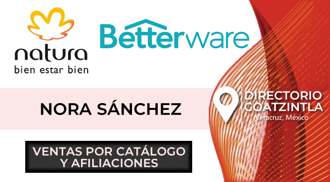 Betterware Natura Nora Sanchez