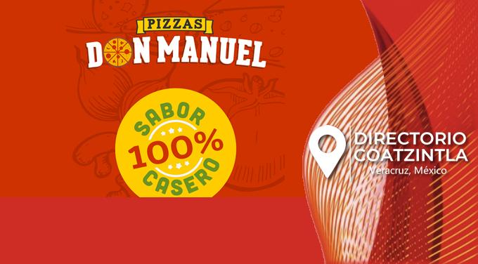 Pizzas Don Manuel