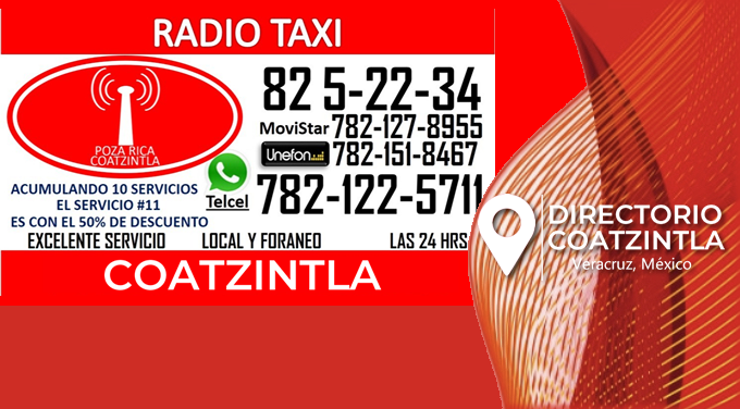 Radio Taxi Base Coatzintla