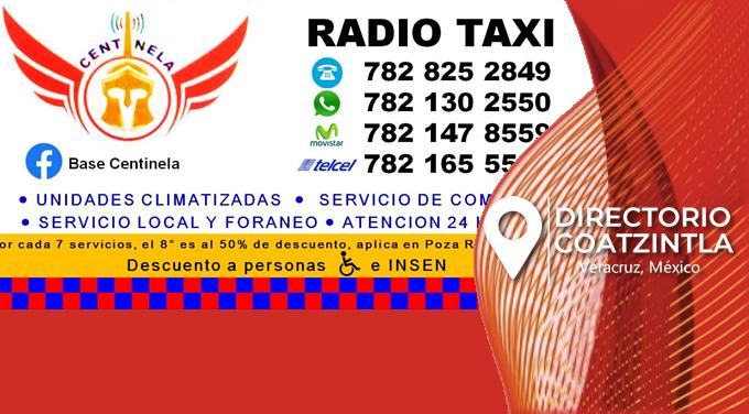 Radio Taxi CENTINELA
