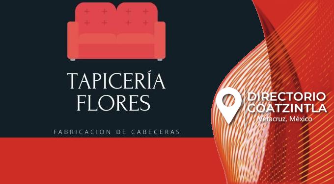 Tapicería Flores